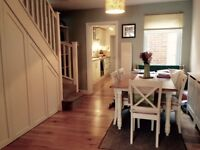 Beautiful 2 double bedroom unfurnished period cottage for rent in Walton-on-Thames.