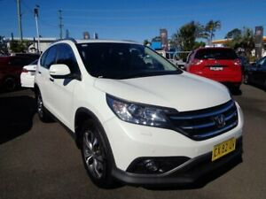 2013 Honda CR-V RM MY14 VTi-L 4WD White 5 Speed Sports Automatic Wagon West Ballina Ballina Area Preview