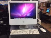 Apple iMac 20-inch IntelCore 2 Duo 2.16 GHz, 3GB Ram 320 GB HD Late 2006 PC