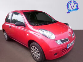NISSAN MICRA 1.2 80 Visia 3dr (red) 2009
