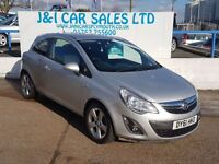 VAUXHALL CORSA 1.2 SXI A/C 3d 83 BHP A LOW PRICE 3DR HATCHBACK (silver) 2011