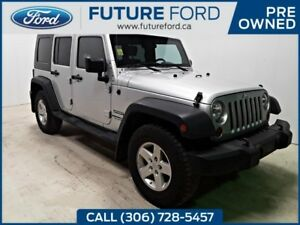 2010 Jeep Wrangler Unlimited Sport- GREAT YEAR ROUND SUV- PST PA
