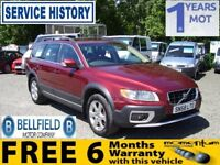VOLVO XC70 D5 SE LUX AWD (red) 2009