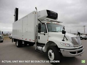 2015 International 4300 4x2, Used Reefer Van