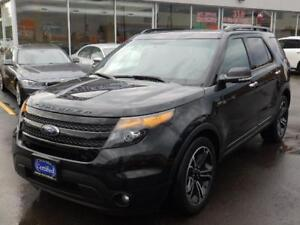 2014 Ford Explorer Sport,NAVI,CAMERA,DUAL DVD,PUSH BUTTON START