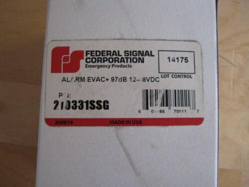 Federal Signal 210331SSG Evacuator Plus Back-Up Alarm & Universal Mount Bracket