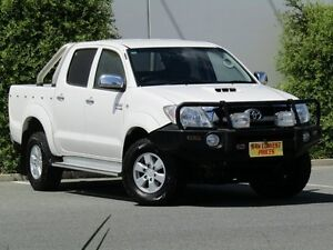 2010 Toyota Hilux KUN26R MY10 SR5 White 4 Speed Automatic Utility Melrose Park Mitcham Area Preview