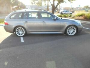 2009 BMW 530i E61 MY08 Touring Steptronic Silver 6 Speed Sports Automatic Wagon Beverley Charles Sturt Area Preview