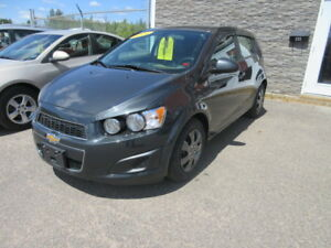 2014  Chevrolet Sonic $25 WEEKLY Hatchback