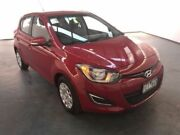 2014 Hyundai i20 PB MY14 Active Red 4 Speed Automatic Hatchback Albion Brimbank Area Preview