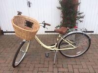 "Pro Bike City Discovery Ladies 18"" Frame 700c Wheel 7 Speed Bike Dutch Vintage style Hybrid Bicycle"