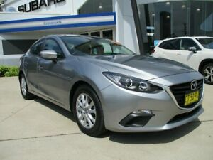 2014 Mazda 3 BM5278 Maxx SKYACTIV-Drive Silver 6 Speed Sports Automatic Sedan Glendale Lake Macquarie Area Preview