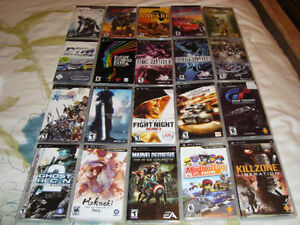 PSP GAMES, FINAL FANTASY, THE 3rd BIRTHDAY, TEKKEN + MANY OTHERS
