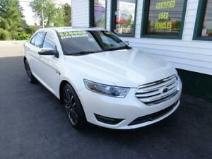 2018 Ford Taurus Limited AWD for only $239 bi-weekly all in!