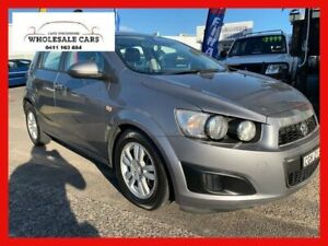 2012 Holden Barina TM Grey 5 Speed Manual Hatchback Broadmeadow Newcastle Area Preview