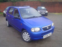2006 Suzuki Alto 1.1 ( 61bhp ) GL+low miles+£30 a year tax+new m.o.t
