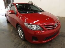 2013 Toyota Corolla ZRE152R MY11 Conquest Red 4 Speed Automatic Sedan Geebung Brisbane North East Preview
