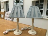 Bedside Table Lights (matching pair)
