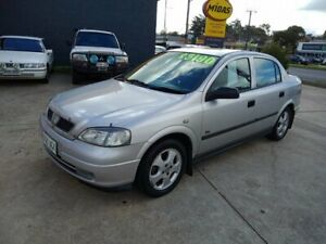 2000 Holden Astra TS Olympic City Silver 5 Speed Manual Sedan Somerton Park Holdfast Bay Preview
