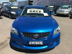 2007 Toyota Aurion GSV40R Sportivo SX6 Blue 6 Speed Auto Sequential Sedan Lansvale Liverpool Area Preview