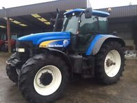 2005 New Holland TM190 c/w Cab & Front Axle suspension
