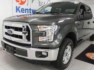 2016 Ford F-150 XLT 5.0L V8 with a comfortable 6 seats and keyle