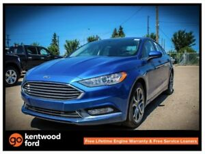 2017 Ford Fusion SE luxury pkg 202A 2.0L AWD heated front seats,