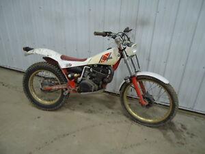 TY250 Trials Bike