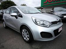 2013 Kia Rio UB MY14 S Silver 4 Speed Automatic Hatchback Mount Gravatt Brisbane South East Preview