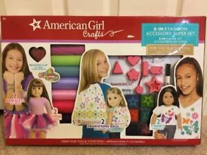 American Girl Doll Clothing Fashion Accessory 8 in 1 Super Set