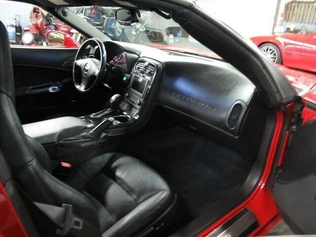 2008 Red Chevrolet Corvette   | C6 Corvette Photo 9