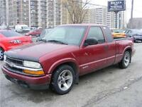2003 Chevrolet S-10 Extended Cab, Very Sharp.