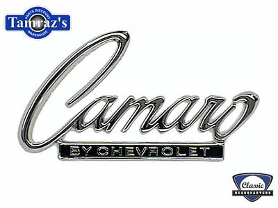 68 69 Camaro by Chevrolet Trunk Lid Header Panel Emblem CHQ Camaro Header Panel Emblem