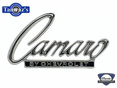 68 69 Camaro by Chevrolet Trunk Lid Header Panel Emblem CHQ