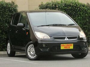 2011 Mitsubishi Colt RG MY11 VR-X Black 5 Speed Constant Variable Hatchback Blair Athol Port Adelaide Area Preview