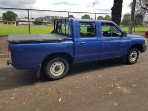 2002 Nissan Navara D22 Series 2 DX (4x2) Blue 5 Speed Manual Dual Cab Pick-up