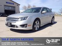 2012 Ford Fusion Sport AWD  Sunroof Back up Cam Leather Seat