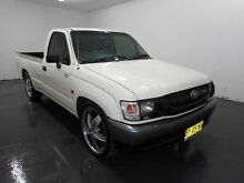2002 Toyota Hilux RZN147R Workmate White Manual Utility Cabramatta Fairfield Area Preview