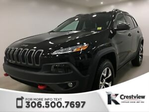 2018 Jeep Cherokee Trailhawk Leather Plus 4x4 | Sunroof | Naviga