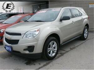 2013 CHEVROLET EQUINOX LS WITH BLUETOOTH
