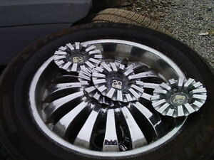 20 INCH TIS RIMS 3 ONLY 275 60 20 TIRES