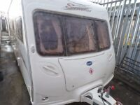 2005 BAILEY SENATOR INDIANA,FIXED BED,AT BUDGET CARAVANS LIVERPOOL,2-4-5-6 BERTHS IN STOCK,FINANCE