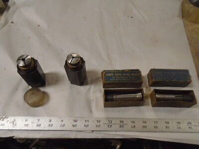 Machinist Lathe Tool Mill Machinist Lot Of South Bend 2 Collets Collet