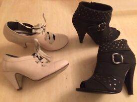 For Sale: 2 Pairs of women's shoes size 3 bought from Next - 1pair worn once the other never worn.