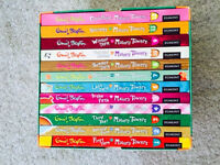 Malory Towers Boxed Book Set. Complete set of 12 books. Excellent, as new condition.