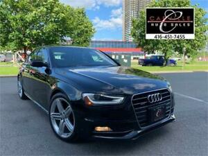 2015 AUDI A4 SLINE TECNIK NAVI CAM WOW 34K WARRANTY LIKE NEW