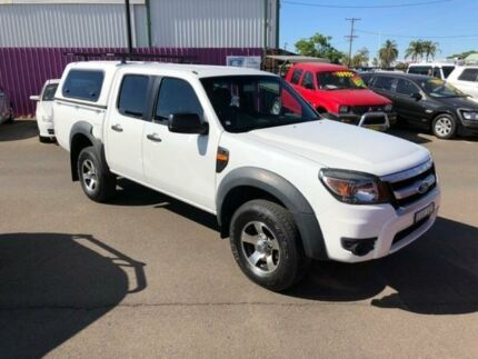 2011 Ford Ranger PK XL (4x2) White 5 Speed Automatic Dual Cab Pick-up Dubbo Dubbo Area Preview