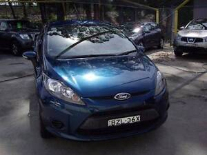 2010 Ford Fiesta Hatchback Waitara Hornsby Area Preview