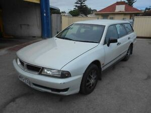 1999 Mitsubishi Magna TH Executive Champagne 4 Speed Automatic Wagon Christies Beach Morphett Vale Area Preview
