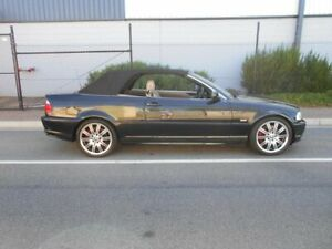 2002 BMW 330Ci E46 MY2002 Steptronic Black 5 Speed Sports Automatic Convertible Beverley Charles Sturt Area Preview